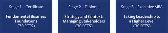 Executive MBA - Stages 1-3