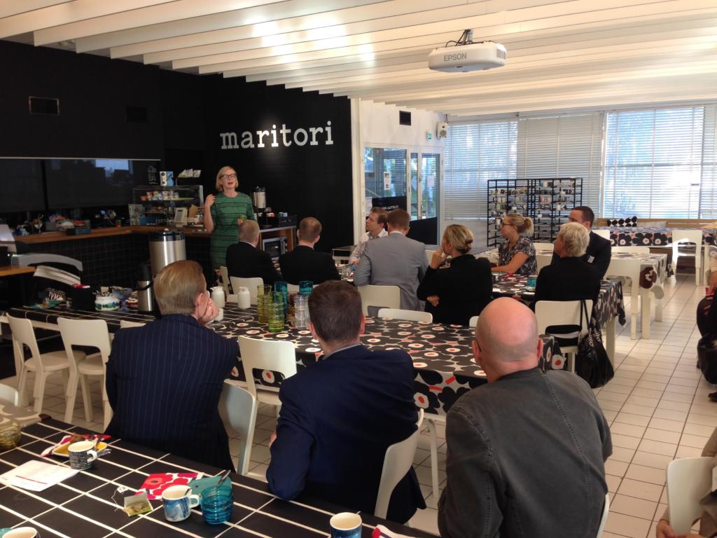 alumni - company visit - marimekko - Henley Business School Suomessa