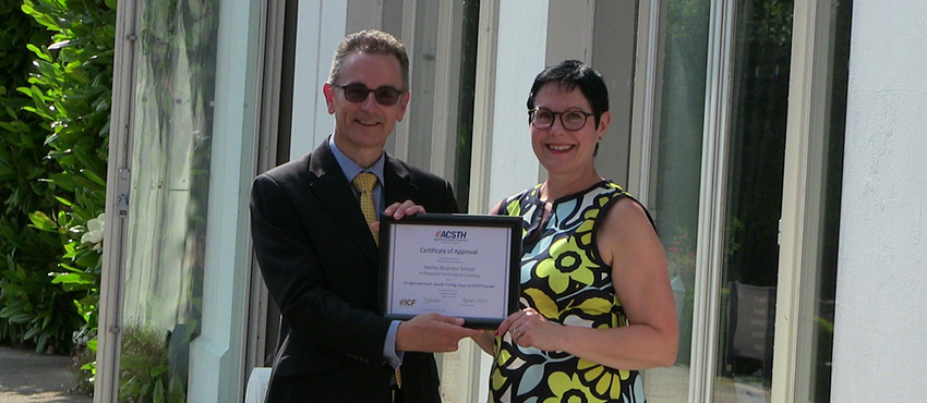 Centre for Coaching receives triple accreditation - Henley Business School