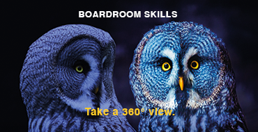 Boardroom Skills - Take a 360° view.