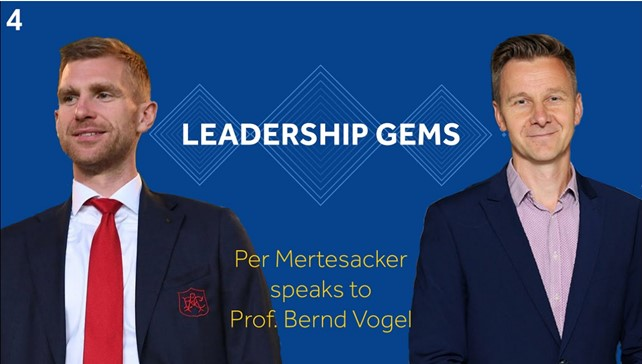 Conversation with Per Mertsacker